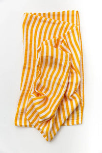 Citrus Stripe Swaddle - Little Red Barn Door