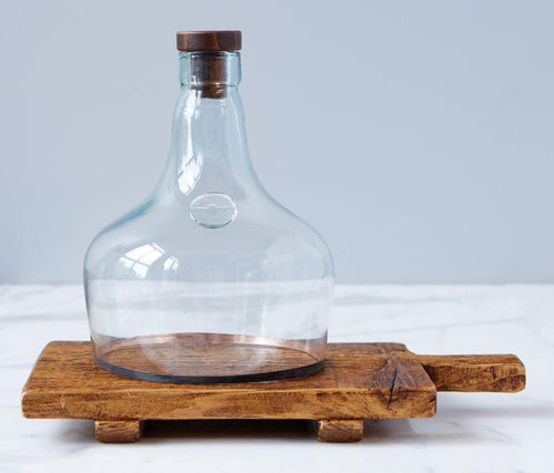 Demijohn Cloche - Little Red Barn Door