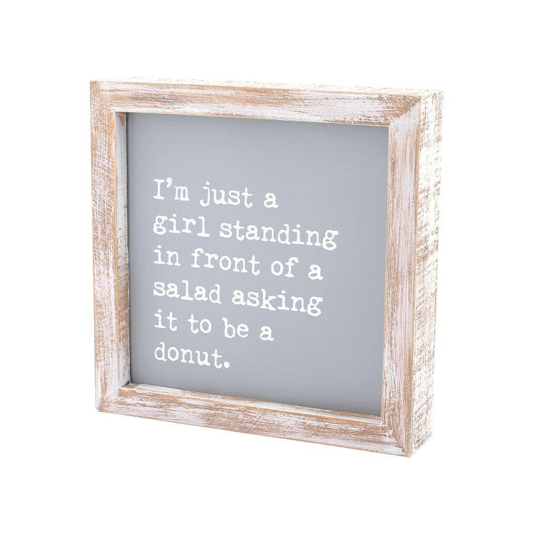 Donut Letterboard - Grey - Little Red Barn Door