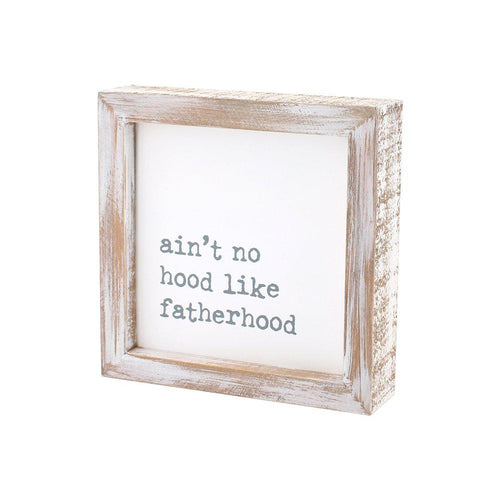 Father Hood - Grey - Little Red Barn Door