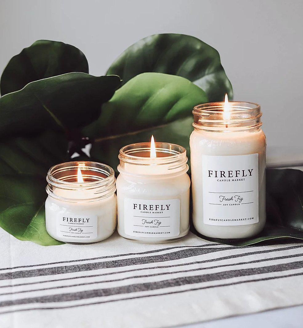 Firefly Candle - Fresh Fig - Little Red Barn Door
