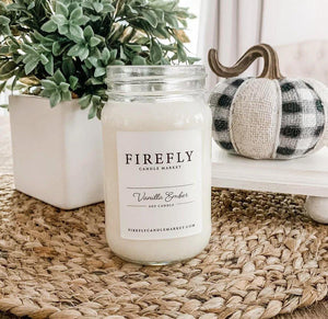 Firefly Candle - Vanilla Ember - Little Red Barn Door