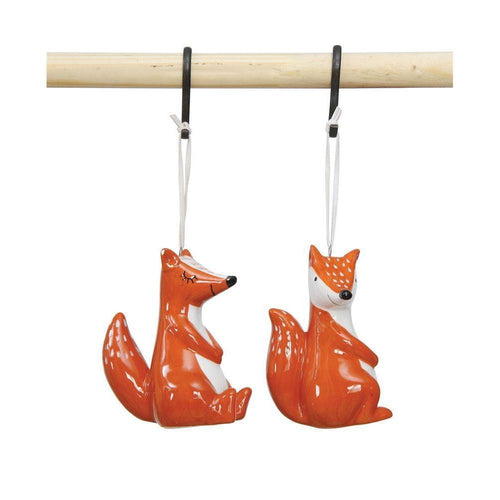 Fox Ornament - Little Red Barn Door