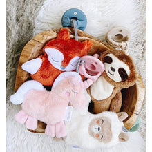 Load image into Gallery viewer, Fox Sweetie Pal - Pacifier & Stuffed Animal - Little Red Barn Door