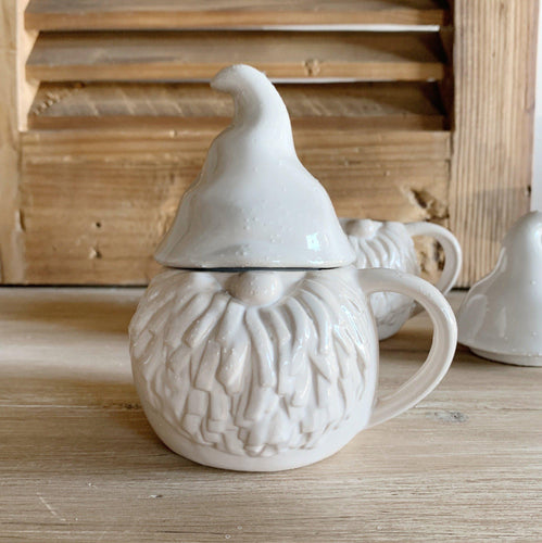 Gnome Mug with Lid - Little Red Barn Door