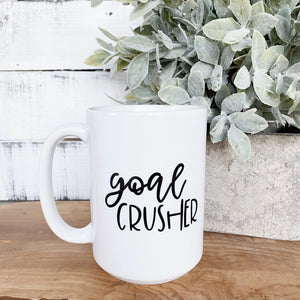 Goal Crusher Mug - Little Red Barn Door