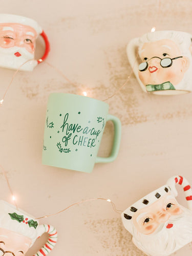 Have a Cup of Cheer Mug - Little Red Barn Door