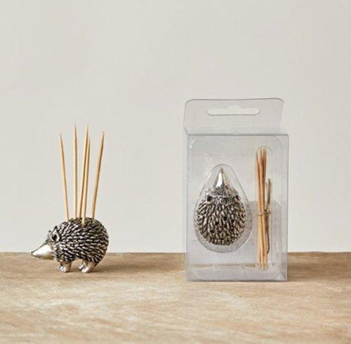 Hedgehog Toothpick Holder - Little Red Barn Door