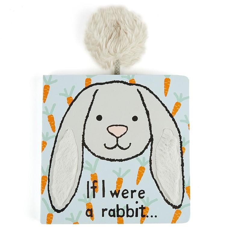 If I Were A Rabbit Board Book - Little Red Barn Door
