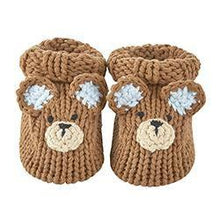 Load image into Gallery viewer, Knit Booties - Newborn - Little Red Barn Door