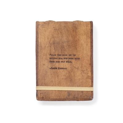 Leather Journal - Joseph Campbell - Little Red Barn Door