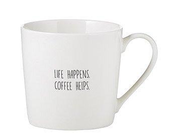 Life Happens, Coffee Helps - Mug - Little Red Barn Door