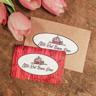 Little Red Barn Door Gift Card - Little Red Barn Door