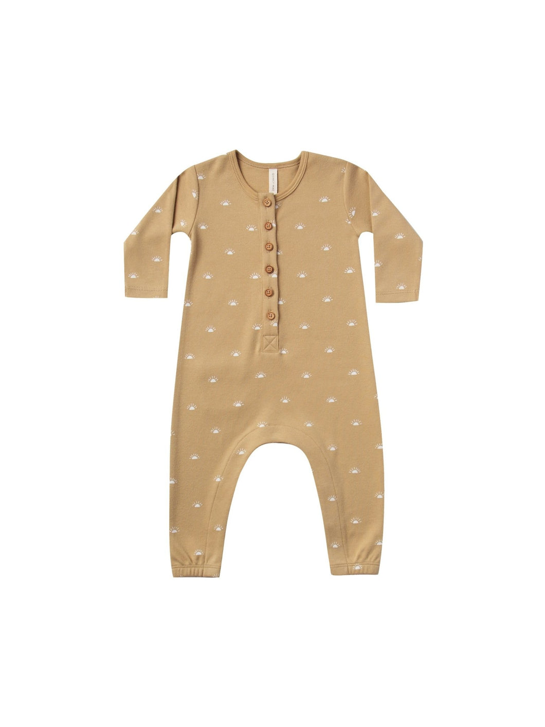 Long Sleeve Jumpsuit - Honey - Little Red Barn Door