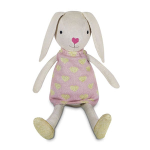 Luella Bunny - Organic Knit Pal - Little Red Barn Door
