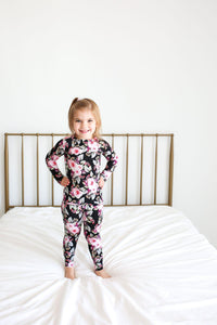 Milana - Long Sleeve Loungewear - Little Red Barn Door