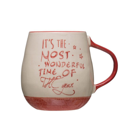 Most Wonderful Time of the Year Mug - Little Red Barn Door