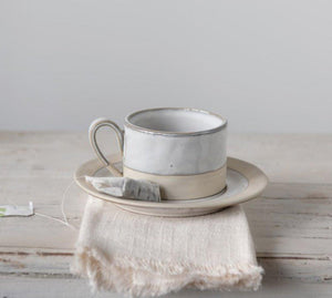 Mug with Saucer (2 pieces) - Little Red Barn Door