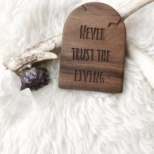 Never Trust the Living Teether - Little Red Barn Door