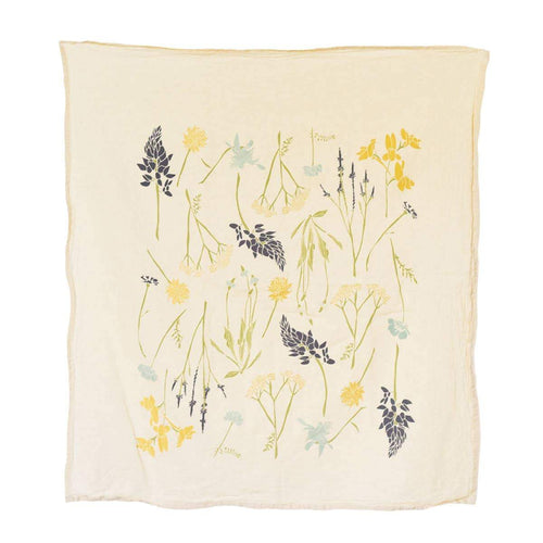 Northern Region Wildflowers Towel - Little Red Barn Door