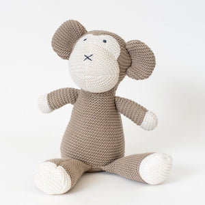 Organic Cotton Classic Knit Monkey - Little Red Barn Door