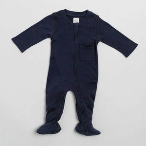 Organic Cotton Everyday Sleeper - Navy - Little Red Barn Door
