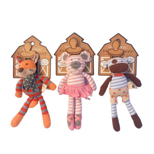 Organic Pacifier Buddies - Little Red Barn Door