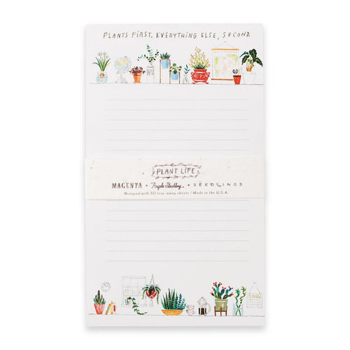 Plant Life 50-Sheet Notepad - Little Red Barn Door