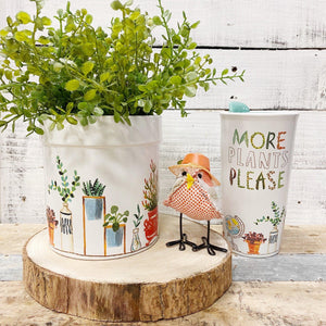 Plant Life Planter, Medium - Little Red Barn Door