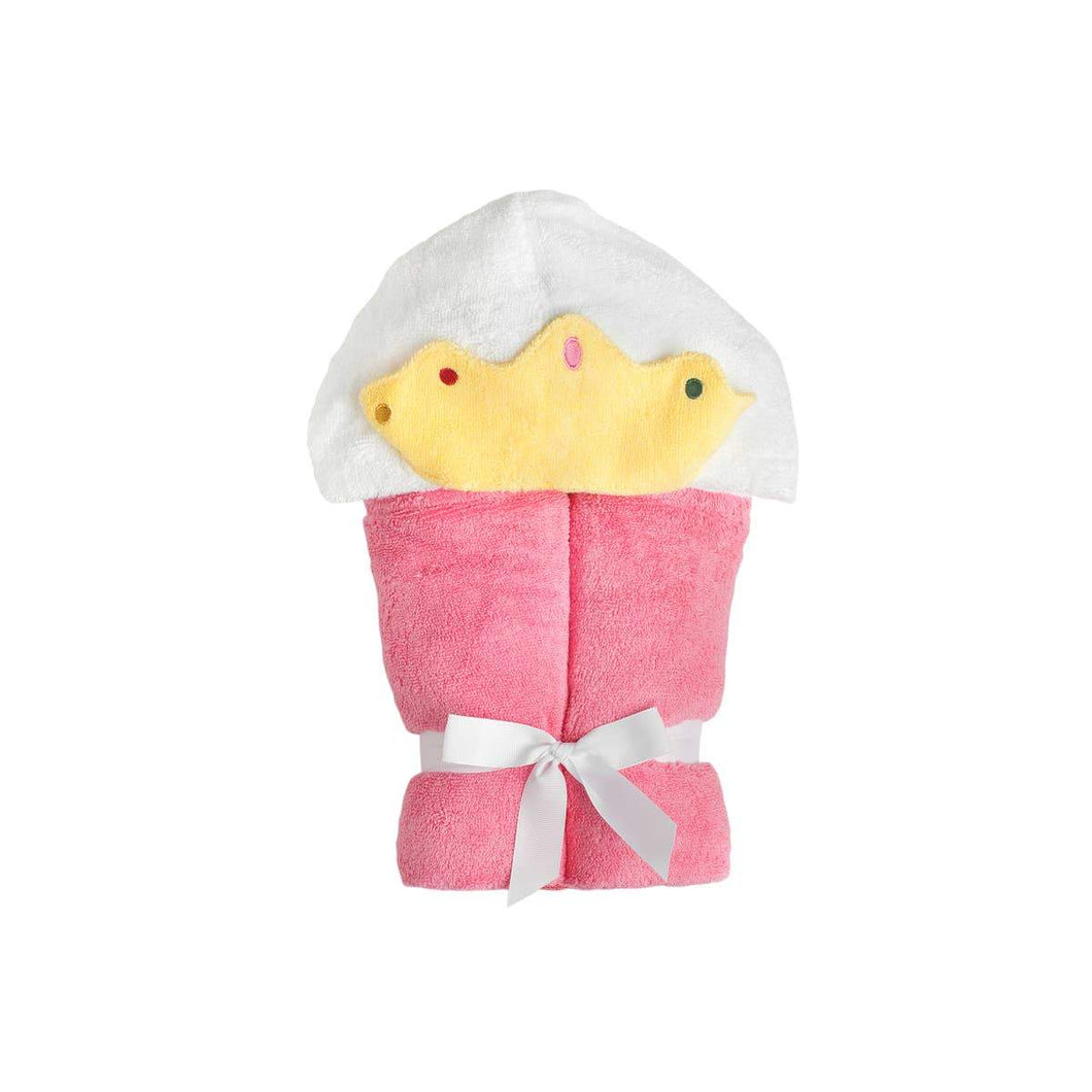 Princess Pink Hooded Towel - Little Red Barn Door