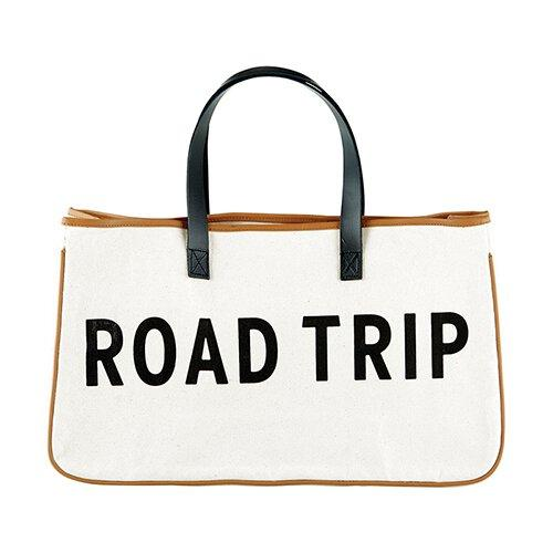 ROAD TRIP - Canvas Tote - Little Red Barn Door