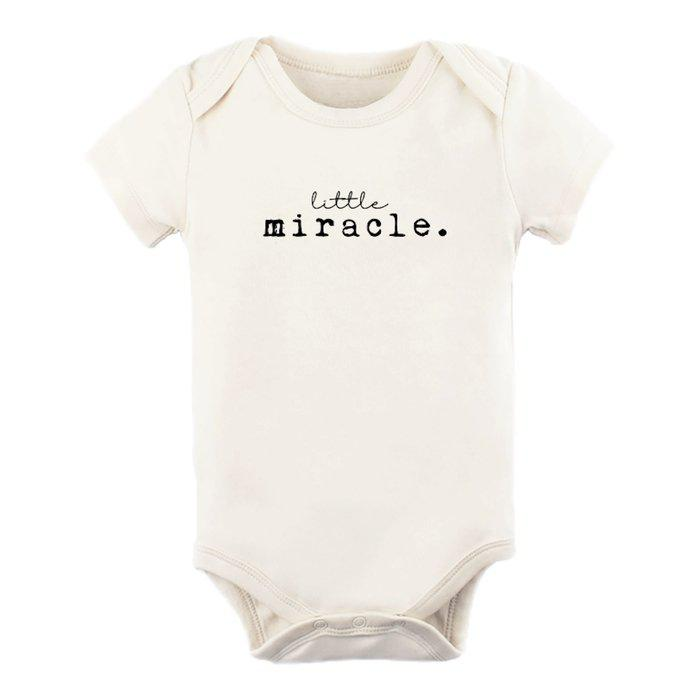 Short Sleeve Bodysuit - Little Miracle - Little Red Barn Door
