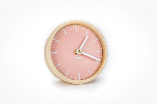 TAIT Desk Clock - Rose - Little Red Barn Door