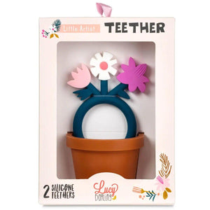 Teether Toy - Little Artist - Little Red Barn Door