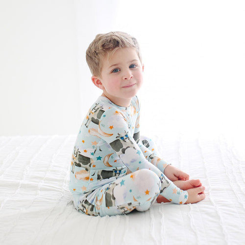 Tex - Long Sleeve Basic Pajamas - Little Red Barn Door
