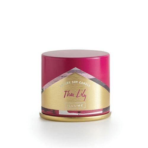 Thai Lily Demi Tin Candle - Little Red Barn Door