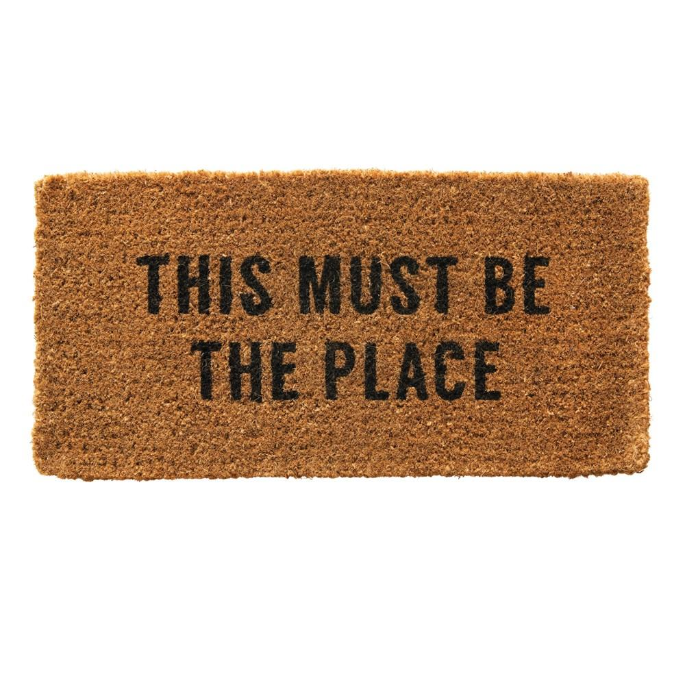 This Must Be The Place - Door Mat - Little Red Barn Door
