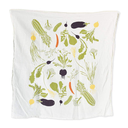 Veggie Garden Towel - Little Red Barn Door