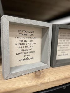 Winnie the Pooh quote - Sign - Little Red Barn Door