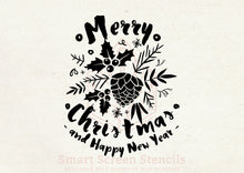 Load image into Gallery viewer, Custom Christmas Stencil - Smart Screen Stencil by Craft