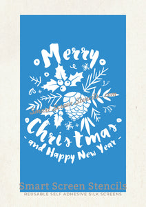 Custom Christmas Stencil - Smart Screen Stencil by Craft