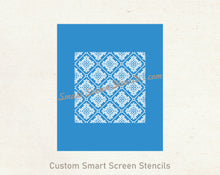 Load image into Gallery viewer, Custom Vintage Seamless SilkScreen Stencil - Reusable, Self Adhesive - Canvas, Cards, Glass, Ceramic, Tile, Walls, Fabric, Wood, Metal, Clay