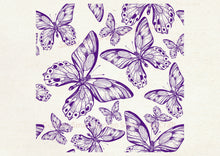 Load image into Gallery viewer, Custom Butterfly SmartScreen Stencil - Reusable, Self Adhesive - Canvas, Cards, Glass, Ceramics, Wall, Fabric, Wood, Metal, Clay, Plastic