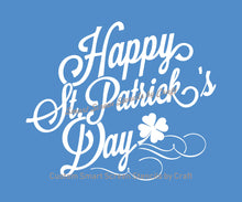 Load image into Gallery viewer, Happy St. Patrick's Day SmartScreen Stencil - Reusable, Self adhesive - Canvas, Cards, Glass, Ceramic, Fabric, Wood, Plastic, Metal, Clay