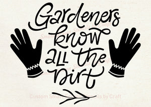 Garden Quote SilkScreen Stencil - Reusable, Self Adhesive - Canvas, Cards, Glass, Ceramic, Walls, Fabric, Wood, Metal, Tote-bags, Clay