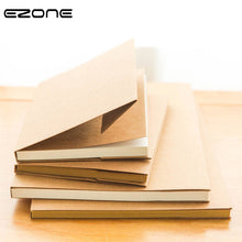 Load image into Gallery viewer, EZONE White/Kraft Paper Inner Page Notebook