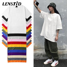 Load image into Gallery viewer, LENSTID Harajuku Plain T Shirt 100% Cotton