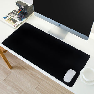 Art All Black /White Mouse Pad Gamer Large XXL