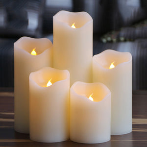 Electrical paraffin wax led candles