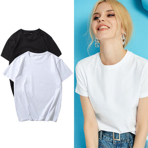 Women's T-shirt Basic White T Shirt
